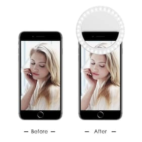 VB Trade Professional Selfie Camera Ring Light for Live Stream/Makeup, YouTube, musically, TIK-Tok Videos and selfies