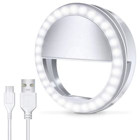 VB Trade Professional Selfie Camera Ring Light LED Flash for Mobile TIK-tok, Youtube,musically and other Camera Photography, Video