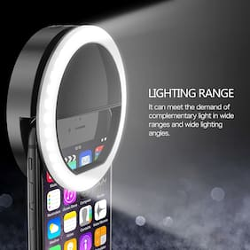 VB Trade Professional Selfie Camera Ring Light LED Flash for Mobile, TIK-tok, Youtube, muscially Camera Photography, Video