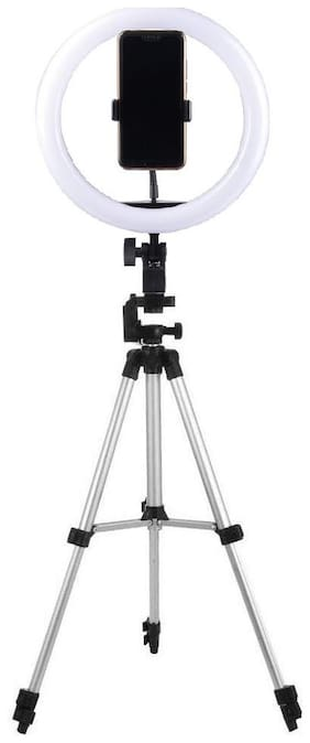VB Trade TikTok Star|Lovers 10 inch Selfie LED Ring Light with Tripod Stand