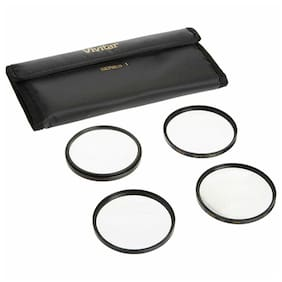Vivitar 72mm 4pc HD Macro Close-UP Lens Filter Set +1 +2 +4 +10