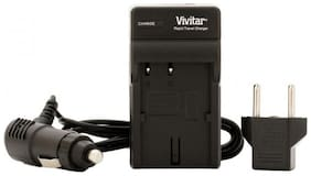 Vivitar AC/DC Battery Charger for the Sony NP-FV50, FV70, and FV100 Batteries