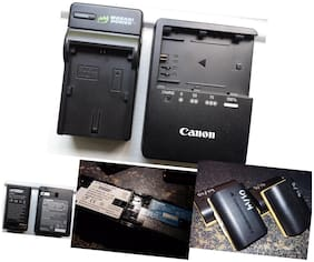 Wasabi Power Canon LP-E6, LP-E6N Replacement (2 Batteries + Charger)