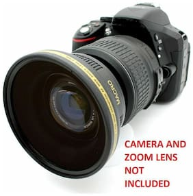 Wide Angle Fisheye Lens for Canon EF 50mm f/1.8 II HD ELAN KISS MODELS t3 t4 t5