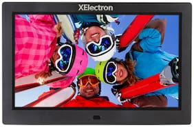 XElectron 10-inch ips display fully functional bis certified Digital Photo Frame - Black