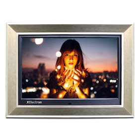 XElectron 15 inch Digital Photo Frame - Metallic silver