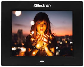 XElectron 8 inch Digital Photo Frame - Black