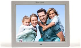 XElectron 12 inch Digital Photo Frame - White