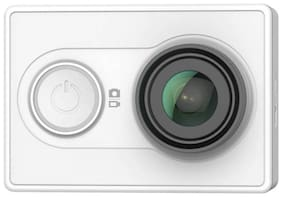 Yi 2K Sports and Action Camera  (White, 16 MP) Without Live Streaming Screen
