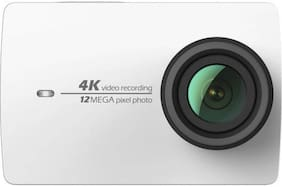 YI 4K Sports and Action Camera  (White, 12 MP)