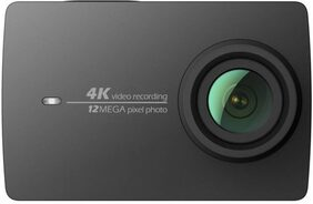 YI 4K Sports and Action Camera  (Black, 12 MP)