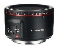 Yongnuo YN 50mm f/1.8 II Lens for Canon EOS Cameras #YN50MM1.8IIFORCANON
