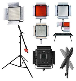 YONGNUO YN900 II Pro LED Video Light Studio Lamp 3200k 5500K Color Tem + AC ADAP