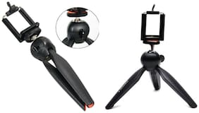 YT-288 T-22 Mini Tripod Mount Light Weight with Rotating Ball Head Clip for DSLR/Digital Camera/Action Camera