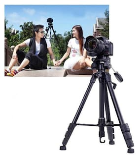 YT_3120_130 Mobile Universal Portable Foldable Professional Stand Compatible with All Smartphone & DSLR, Camera