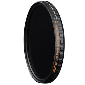 ZOMEI HD ND Filter 58-82mm Multi-Coated 18 layer ND2-400 Fader Variable Filter