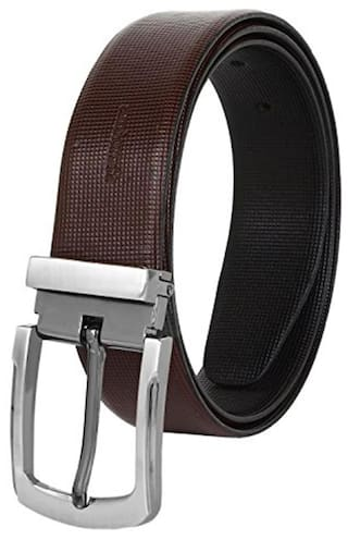 Amicraft Brown And Black 100% Pure Genuine Leather Men'S Premium Belt