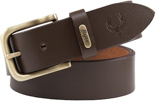 Flyer Leather belt for men/gents Formal/Casual Branded