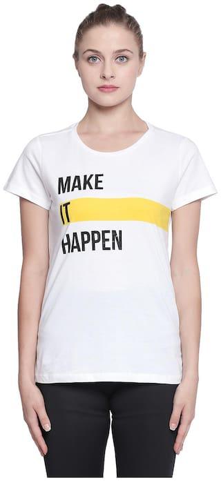 Ajile by Pantaloons Women T-Shirt White