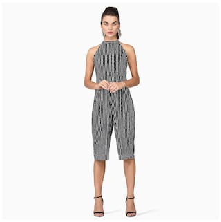 750d94c429ca Buy Black And White Jumpsuit Online at Low Prices in India ...
