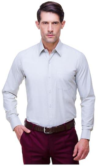 CHOKORE Executive Collection Cotton White Formal Shirt
