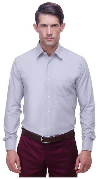 CHOKORE Executive Collection Cotton Light Blue Formal Shirt