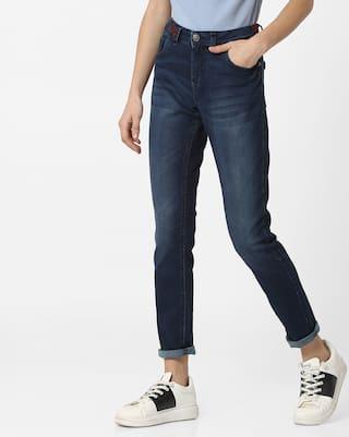 DNMX By Reliance Trends Women Blue Jeans