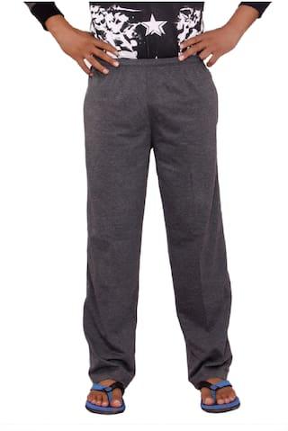 Flamboyant Dark Grey Pyjamas for Men | Mens Long Pyjama Bottom Pants for Summer or Winter