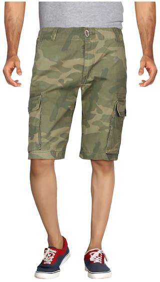 London Bee Green Cotton Shorts