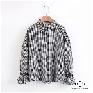MOS Exclusive Women Checks Shirt- Multi