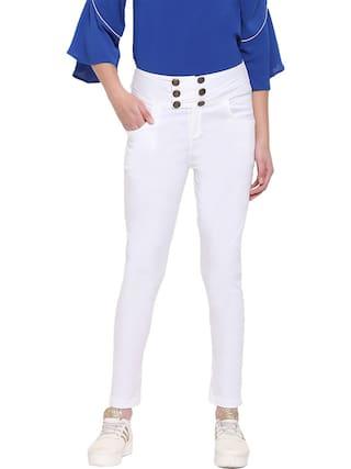 RIVI White Womens Sapphire Trouser