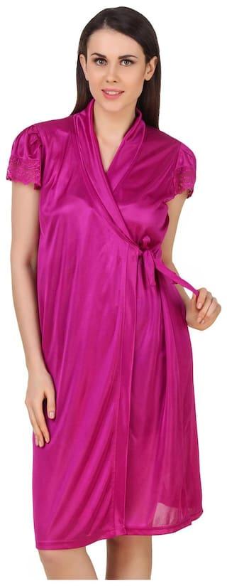 Short Wrap Gown