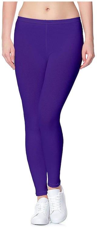 Skandas Trendz Ankle Length Legging - Royal Blue Colour