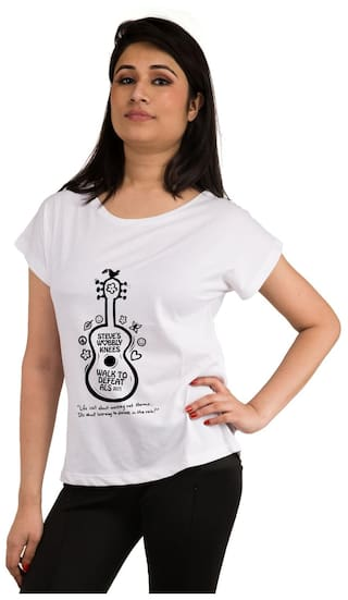Snoby Guitar printed t-shirt