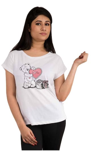 Snoby Teddy printed t-shirt