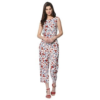 VASHIST Printed Jumpsuit - Multi