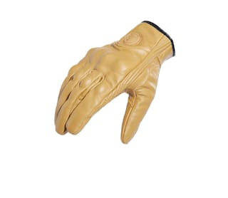 Motorbike Breathable Leather Riding Gloves Touch Screen Anti-slip Racing Full Finger Gloves