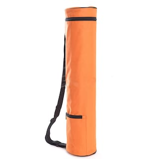 4U Fashion Yoga Mat Bag Waterproof Yoga Mat Carrier Small Orange