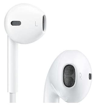 Grostar Brand 100% Original & Genuine Apple iPhone Compatible EarPods & Earphone For 4/ 4S/ 5/ 5S/ 6/ 6S With Mic and Sound Control Comes