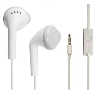 (Pack Of 2)Ear Headphone For Samsung Galaxy J7 (2016) In The Earphone / Headphone / Handfree / Headset With Mic / 3.5Mm Jack And