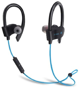 WeCool FREESOLO Wireless Bluetooth 4.1 In-Ear Noice Isolating Sport Earbuds with Mic(Blue)