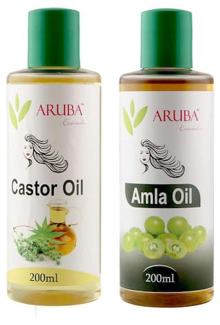 Aruba Essentials Castor & Amla Oil Each 200 ml