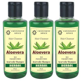 Continent Spice Aloevera Herbal Hair Cleanser
