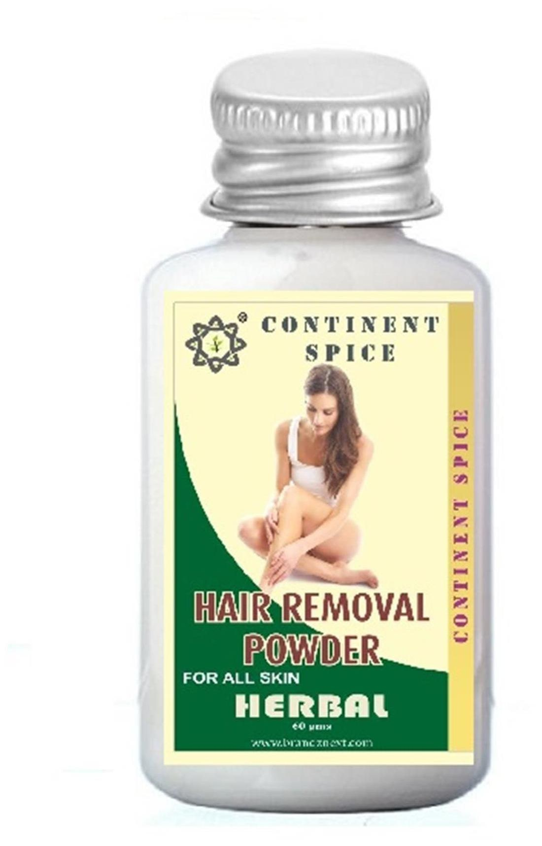 Buy Continent Spice Herbal Hair Removal Powder 60 Gm S Online At Low Prices In India Paytmmall Com