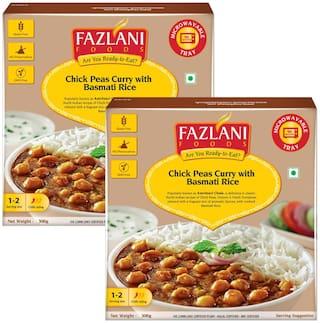 Fazlani Foods Ready To Eat Amritsar Chole With Basmati Rice