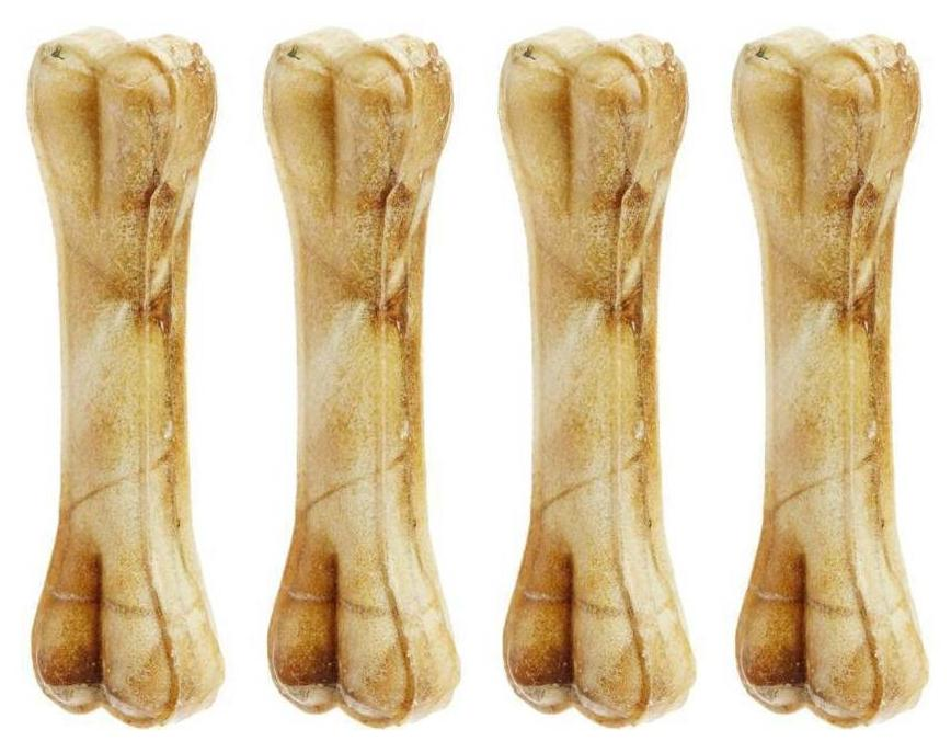 Buy Foodie Puppies Pressed Dog Bone 6 Inches Pack Of 4 Bones Chicken Dog Chew Online At Low Prices In India Paytmmall Com