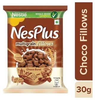 Nestle NesPlus Breakfast Cereal - Multigrain Fillows, Choco-Burst 30 g