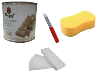 White Chocolate+90 Stripes+Sponge+Applicator Waxing Kit 600 g Pack of 4