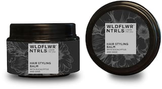 Wildflower Naturals Hair Styling Balm with Eucalyptus and Sage
