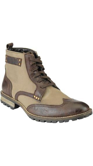 Delize Men Brown;Beige Boots